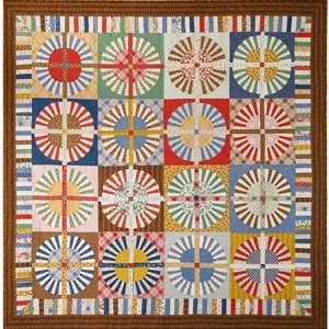 34 best Wagon wheel quilts images on Pinterest   Mandalas ... : wagon wheel quilt - Adamdwight.com