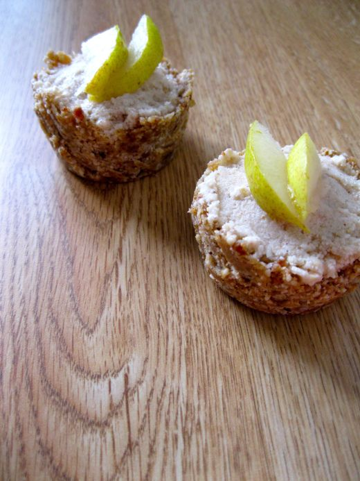 Spiced Pear Freezer Pies with Cashew Maple Crust | Wellness Weekend ...