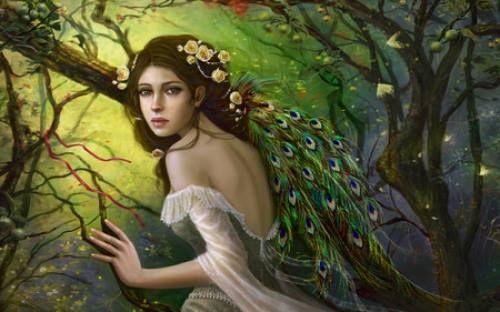 Scopriamo insieme una leggenda galeniana:  Ferisio si fermò a osservare l'antico arazzo sulla parete: qui il mitico eroe Gal abbracciava un pavone bianco, sullo sfondo il drago morente, il ventre trafitto da una spada, e nella scena accanto l'eroe stringeva a sé una donna biancovestita, la bellissima principessa Valiana, ormai libera dal sortilegio con cui il perfido drago l'aveva mutata in pavone.   (La Stagione del Ritorno, Angela Di Bartolo)