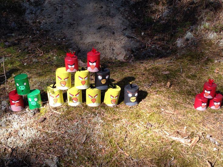 Angry birds i skogen