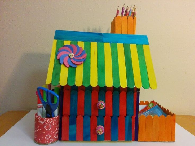 17 best ideas about ice cream stick craft on pinterest for Popsicle stick creations ideas
