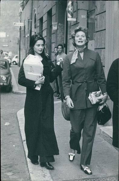 Ingrid Bergman - posted by Isabella Rossellini