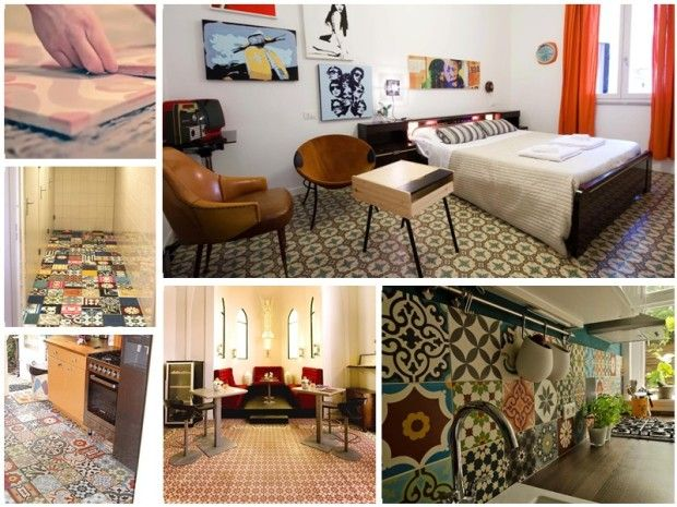 Kolory Maroka - unikalne marokańskie #płytki cementowe #stylpałacowy #styldworkowy #stylmarokański #mazaika #kuchnia #łazienka #aranżacje #wnętrza #dom #mieszkanie