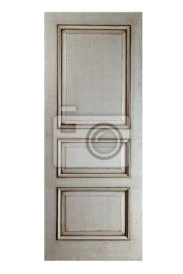 Väggdekor Handgjorda lyx dörr.