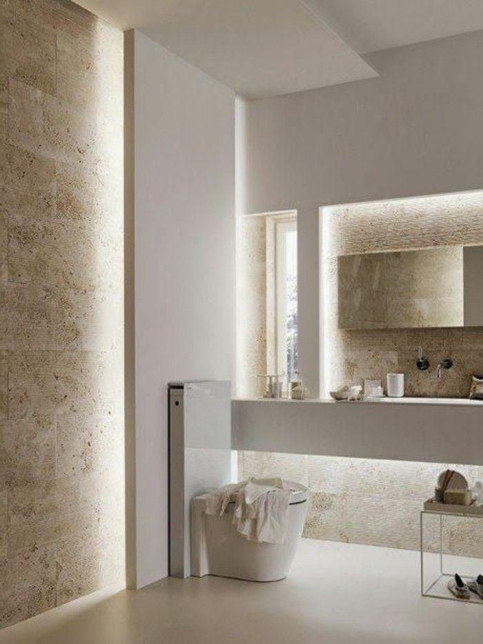 Les 25 meilleures id es de la cat gorie salle de bains - Salle de bain couleur taupe ...