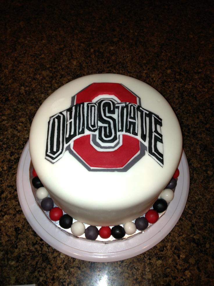 17 best ideas about ohio state cake on pinterest red for Cake craft beavercreek ohio