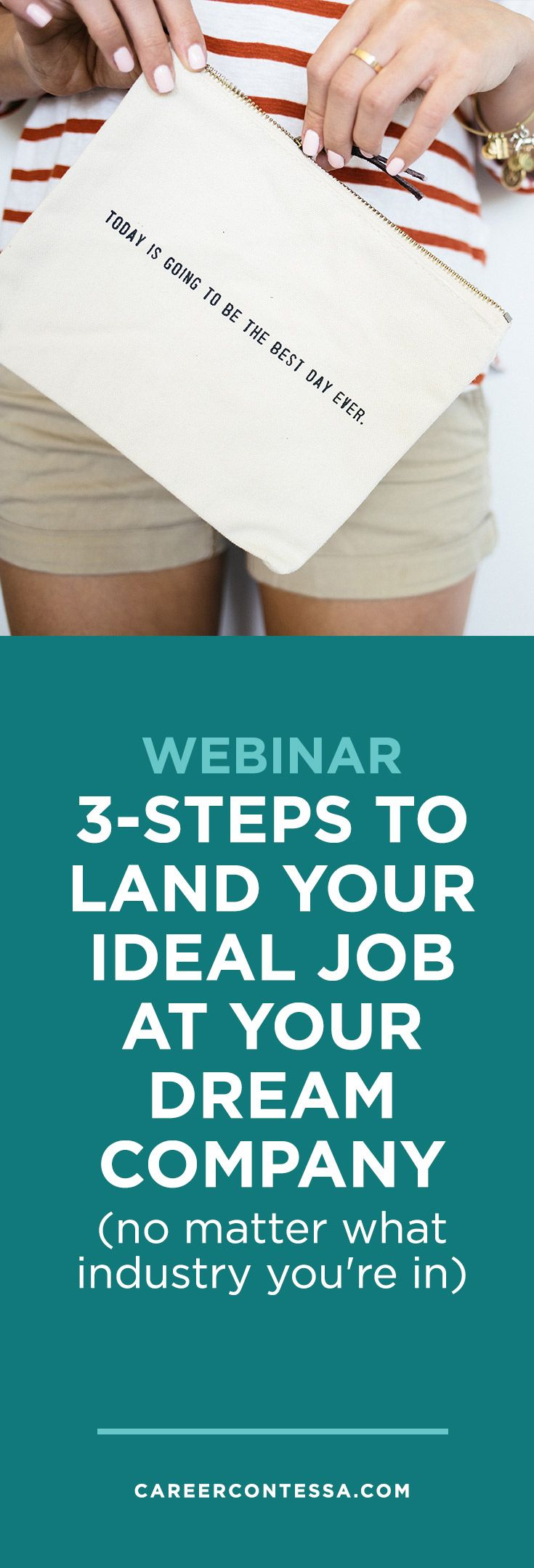 For most people, the idea of finding a new job or switching careers is about as enjoyable as putting together Ikea furniture. Stop torturing yourself and feeling hopeless. We have a webinar that will teach you the best job search strategy you haven't tried ALREADY. | CareerContessa.com
