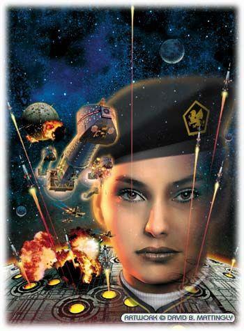 DAVID BURROUGHS MATTINGLY - cover art for War of Honor (Harrington 10) by David Weber - 2002 Baen Books hardcover