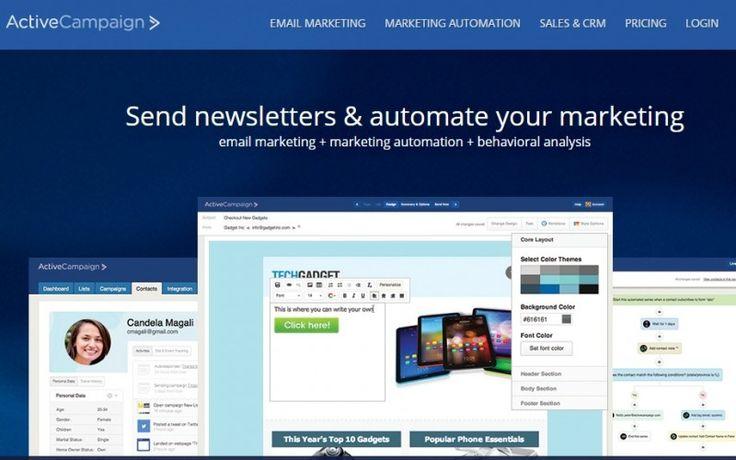 All-in-one Marketing Platform Active Campaign Una piattaforma di Marketing Automation completa con i costi tradizionali di un solo autoresponder