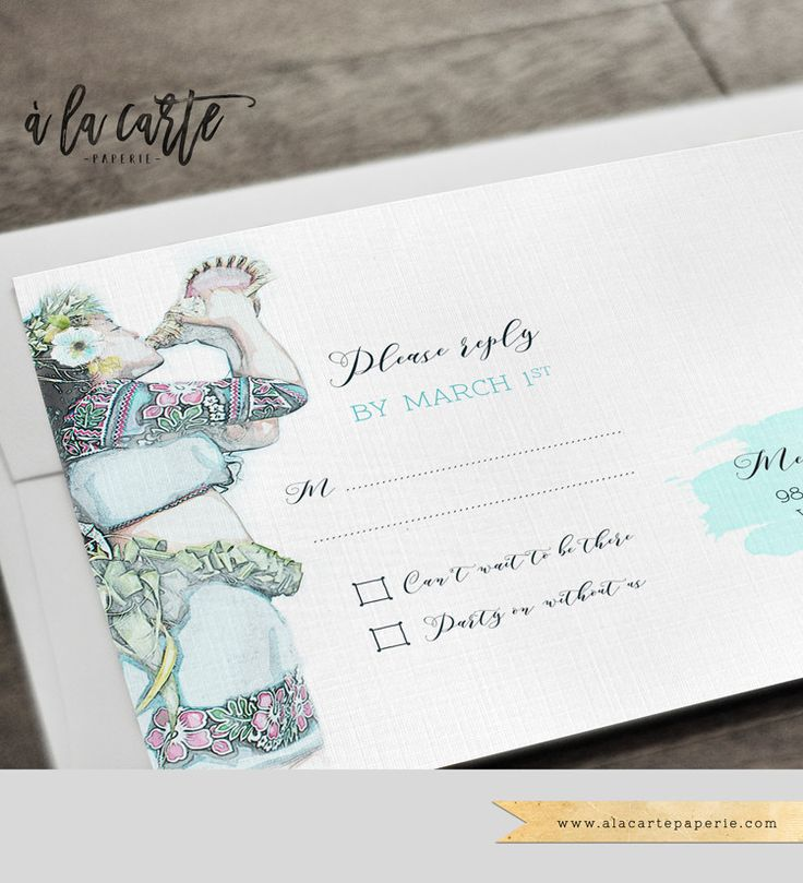 destination wedding invitation rsvp date%0A Fiji Pacific Islands Destination Wedding Invitation Set Tahiti