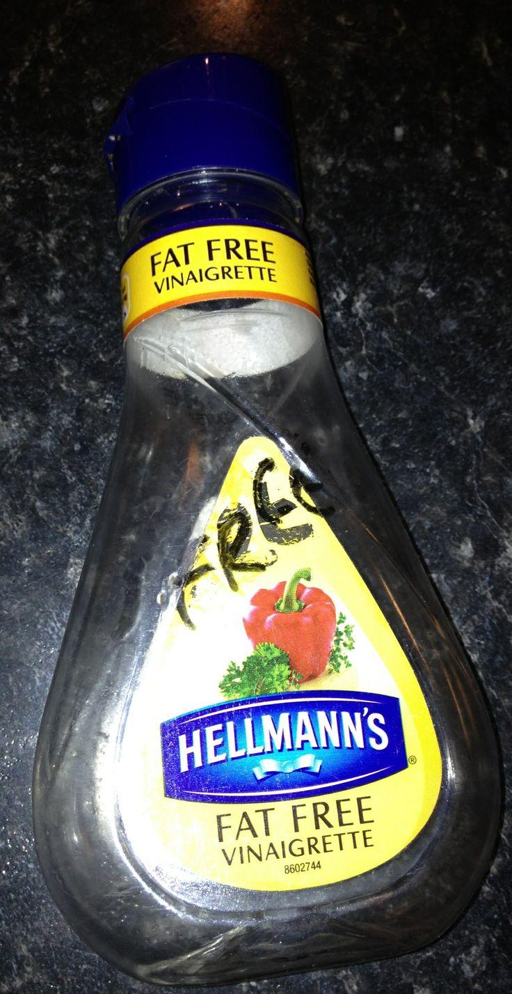Syn free dressing at Slimming World - Hellmans fat free vinaigrette