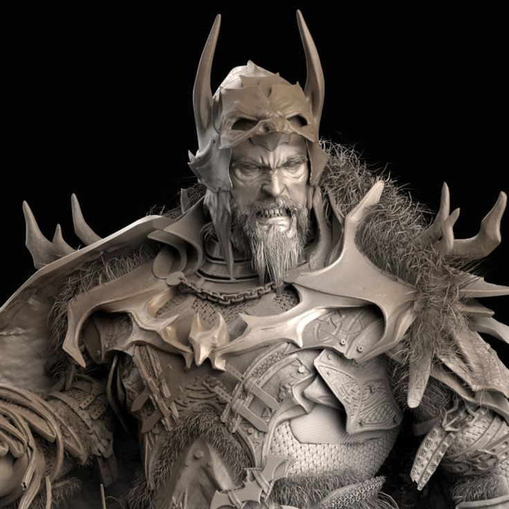 """This was my version of Batman, for the Comic Con Challenge 2014.  Base on a graphic novel of batman called """"DESTINY"""" I Was inspired for the Vikings of the movie """"PathFinder"""" and """"300"""" vibe. If Batman were in this age, he had to be more scary than an average viking, .. thats why i decided to make him this big and bulky, .. I end Up in 8th Place. If you want to see the rest of the amazing works of the other winners, go to…"""