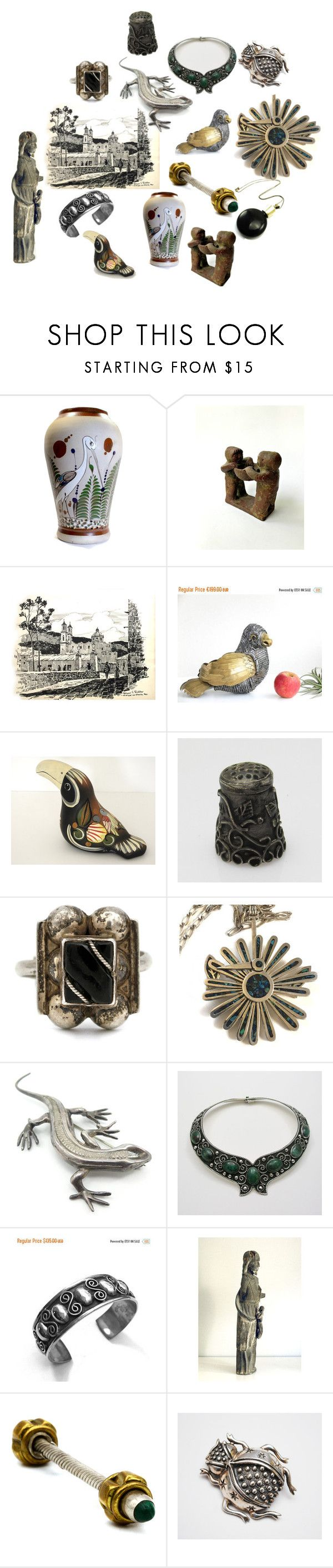 Explore Mexico by patack on Polyvore featuring vintage