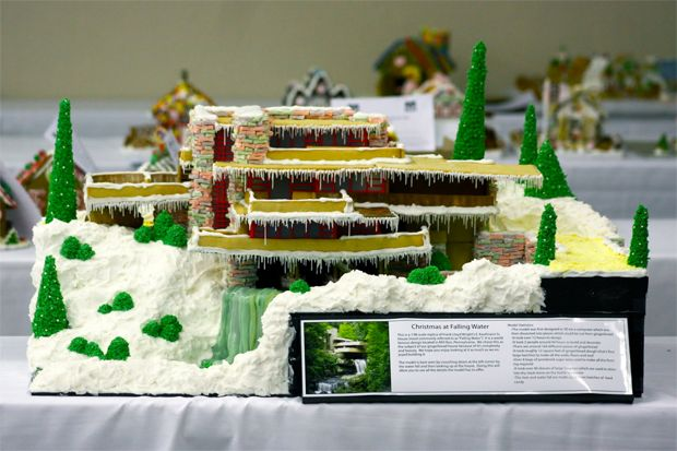 5 Gingerbread Houses Based on Actual Architectural Wonders