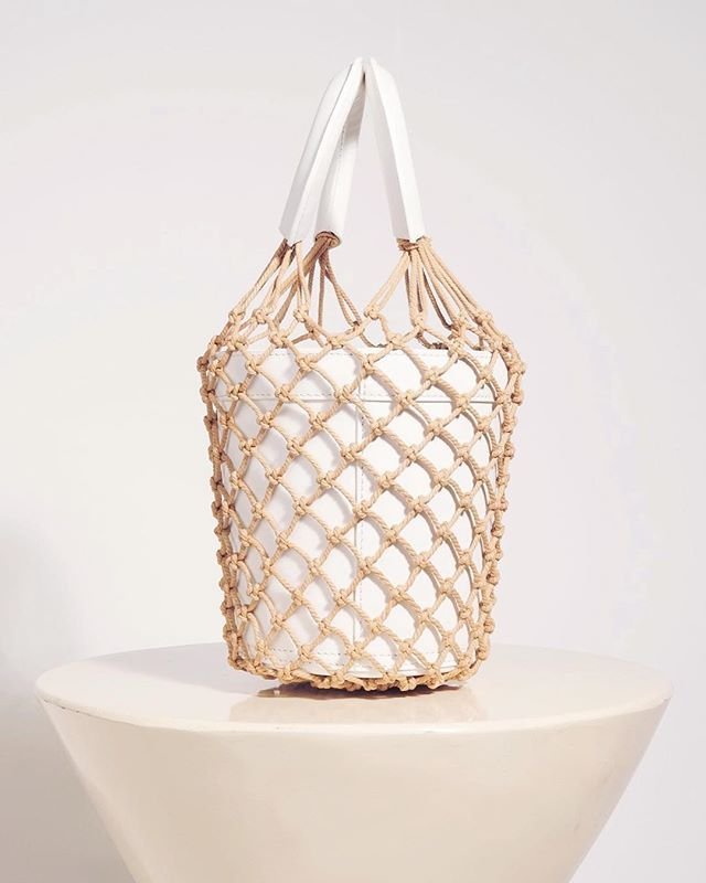 The Moreau Bucket Bag by @staud.clothing