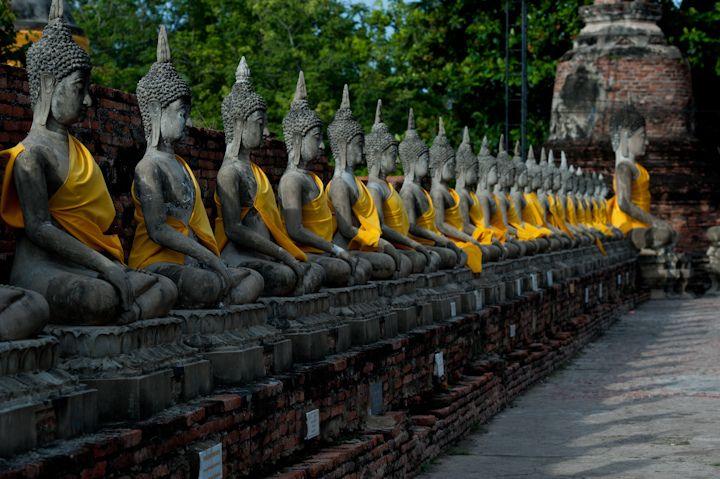 Wat Yai Chai Mongkol, Phra Nakhon Si Ayutthaya,...