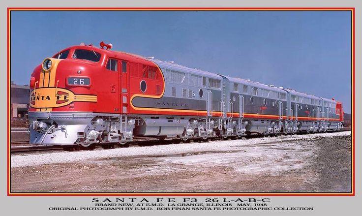 Santa Fee Railroad
