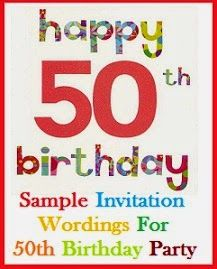 22 best birthday invites images on pinterest birthdays 40th sample invitation wordings invitation wordings for 50th birthday party filmwisefo