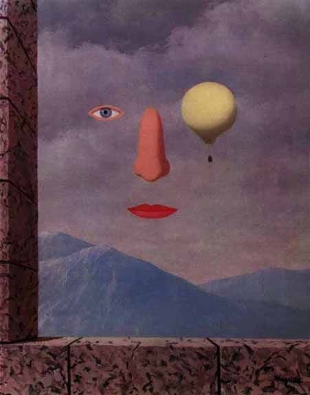 The age of enlightenment - Rene Magritte