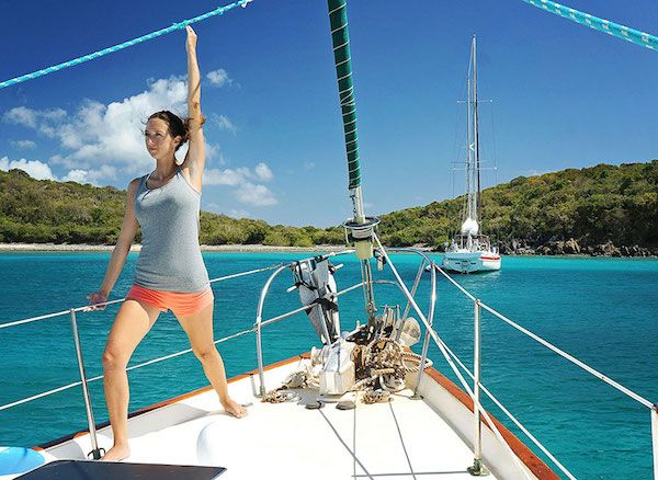 Couple Quits Jobs And Sells Possessions To Sail Around The Whole World (Photos)