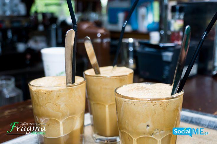 Καλησπέρα με τον καλύτερο καφέ #FragmaThermis #Thermi #Thessaloniki #Coffee #Restaurant 