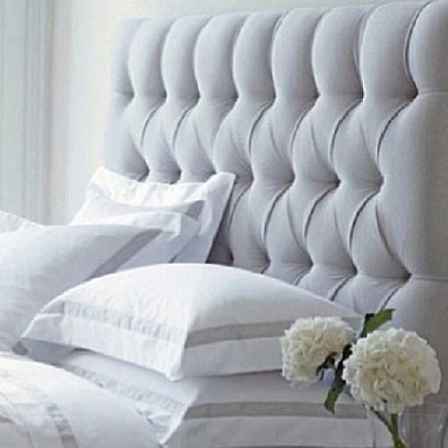 Queen Or King Tufted Upholstered Bedhead French Style - Custom Available
