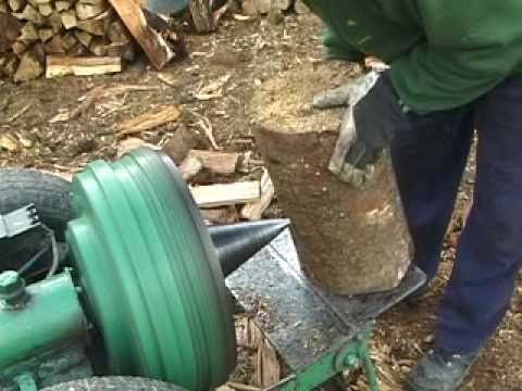 Best Log Splitter Home Made Wood Malku skaldyke