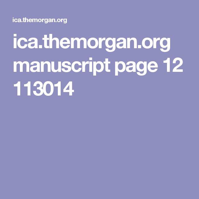 ica.themorgan.org manuscript page 12 113014