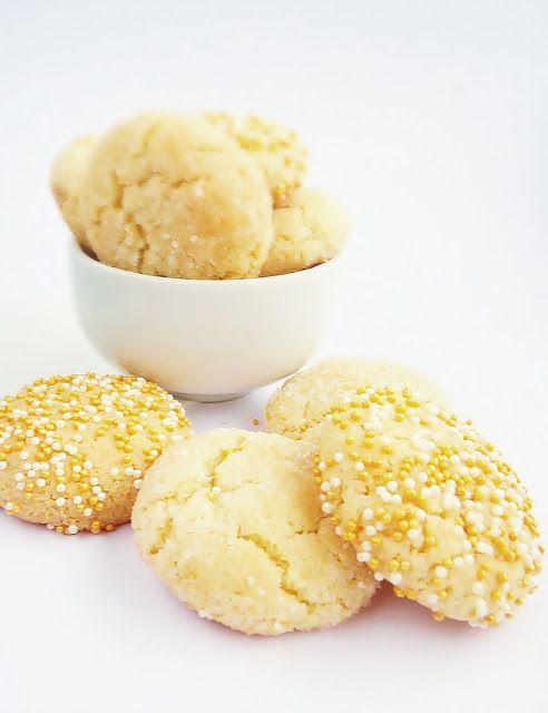 Candy's: Kekszek adventkor: zöldcitromos-kókuszos cookie