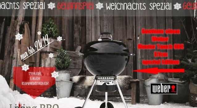 Gewinnspiel: Weber Master-Touch GBS 57cm Spezial Edition im Wert von 299,- €