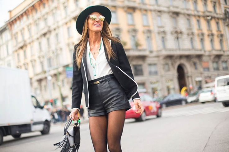 Streetstyle - модные шорты лето 2015 - зима 2016