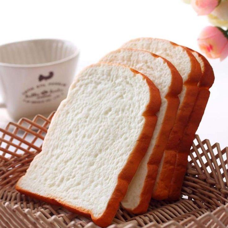Simulation Squishy Toast Stell dir Essen vor