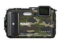 Nikon digital camera COOLPIX AW130 camouflage green [International Version, No Warranty]
