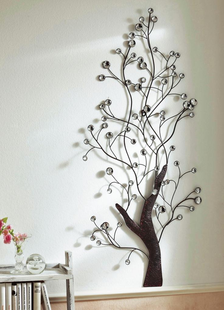 Wandbild Baum Metall Wandbilder Bilder