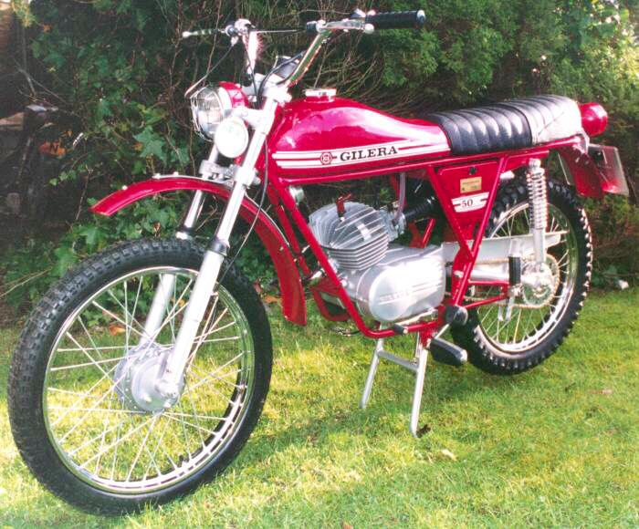 Gilera Trials 50cc - My very first bike - Happy Days