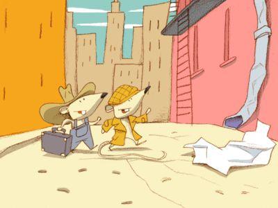 """Le Rat de ville et le Rat des champs (Site """"Il était une histoire"""""""" lire; écouter; imprimer; télécharger en MP3 et PDF)"""