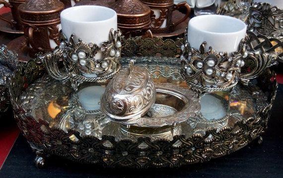 Coffee set mug/Turkish cup/Handmade Coffee by craftartculture