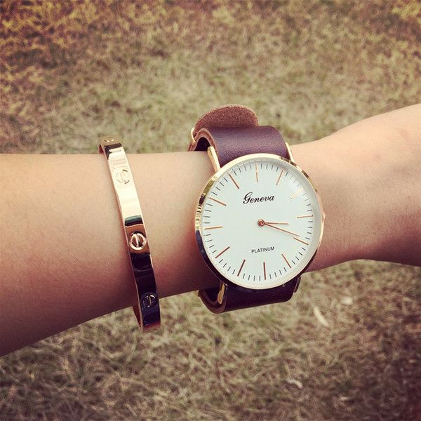 - Trendy white big face band stylish watch for the stylish fashionista - Beautiful design offers a cute stylish look - Perfect for special occasions or parties - Made from high quality material - Avai