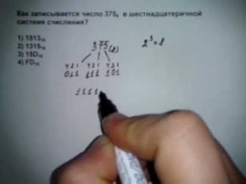 A1 тип VII ЕГЭ информатика 2012