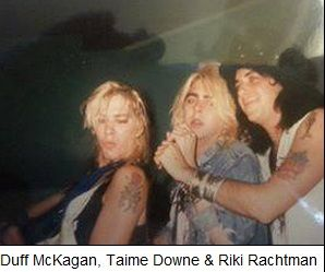 Duff McKagan, Taime Downe & Riki Ratchman