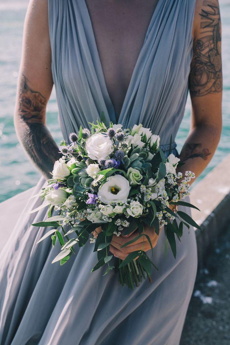 A Wellington Waterfront Wedding With An Alternative Twist by Sarah McEvoy…