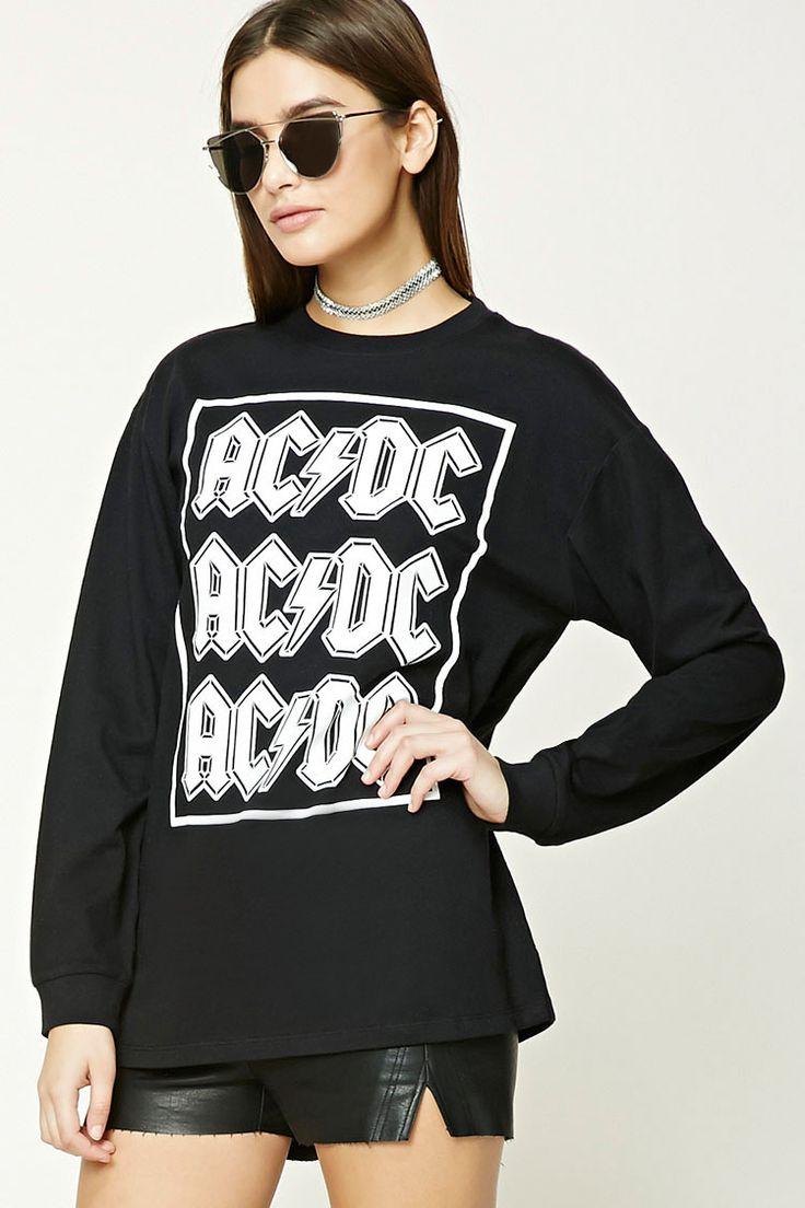 ACDC Long-Sleeve Band Tee