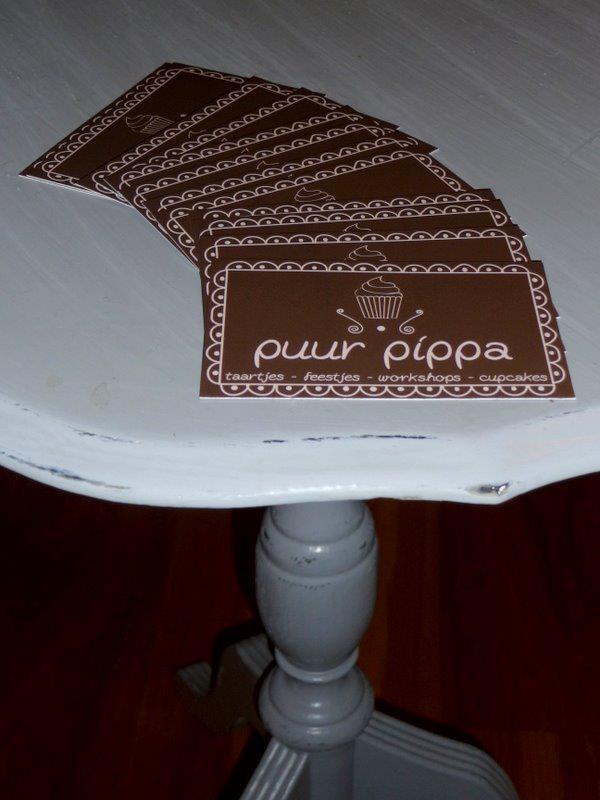 Visitekaartjes Puur Pippa hard copy.