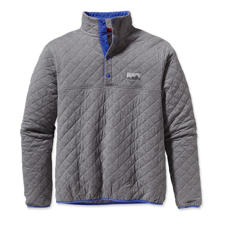 Patagonia Diamond Quilt Snap T Pullover A Piece From The