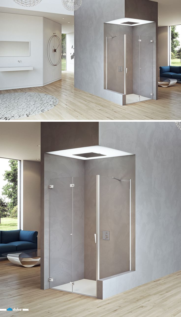 pura 5000 • the best compromise for small bathrooms and therefore small niche constructions is a folding pivot door shower enclosure. Maximizing entrance and enhancing comfort to everyones bathroom.