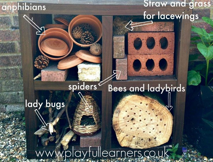 Playful Learners: Upcycled Bug Hotel