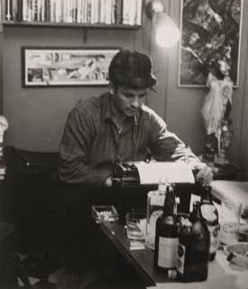 Jack Kerouac & his Underwood Typewriter