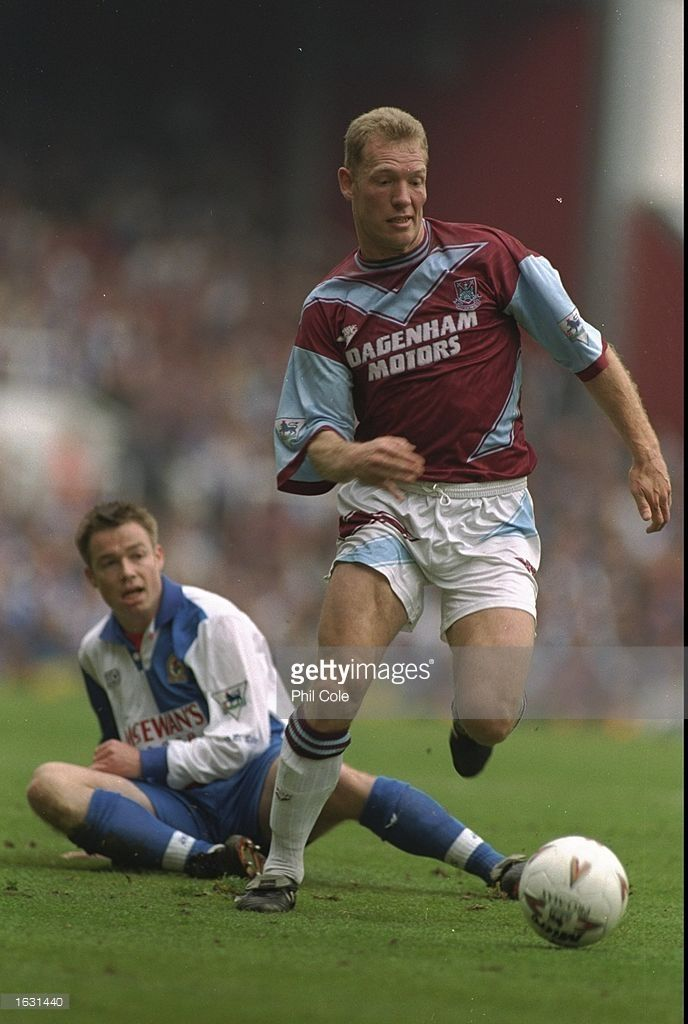 Tim Breaker of West Ham in action during an FA Carling Premiership match against Blackburn at Upton Park in London. West Ham won the match 2-0. \ Mandatory Credit: Phil Cole/Allsport