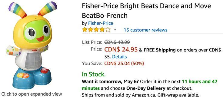 Amazon Canada Deals: Save 50% on Fisher-Price 44% on Disney Frozen & 25% on LEGO http://www.lavahotdeals.com/ca/cheap/amazon-canada-deals-save-50-fisher-price-44/197513?utm_source=pinterest&utm_medium=rss&utm_campaign=at_lavahotdeals