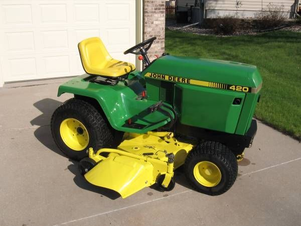 Great John Deere 420 Garden Tractor | John Deere 420   Farm And Garden Equipment  For Sale